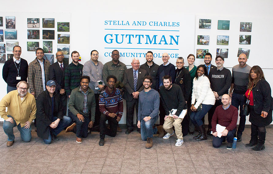 Guttman faculty and staff