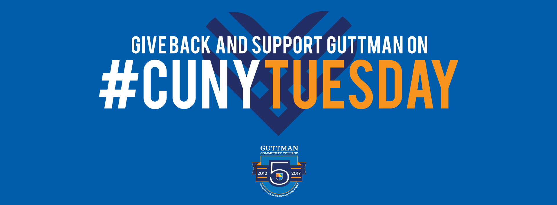 Give Back and Support Guttman on CUNY Tuesday