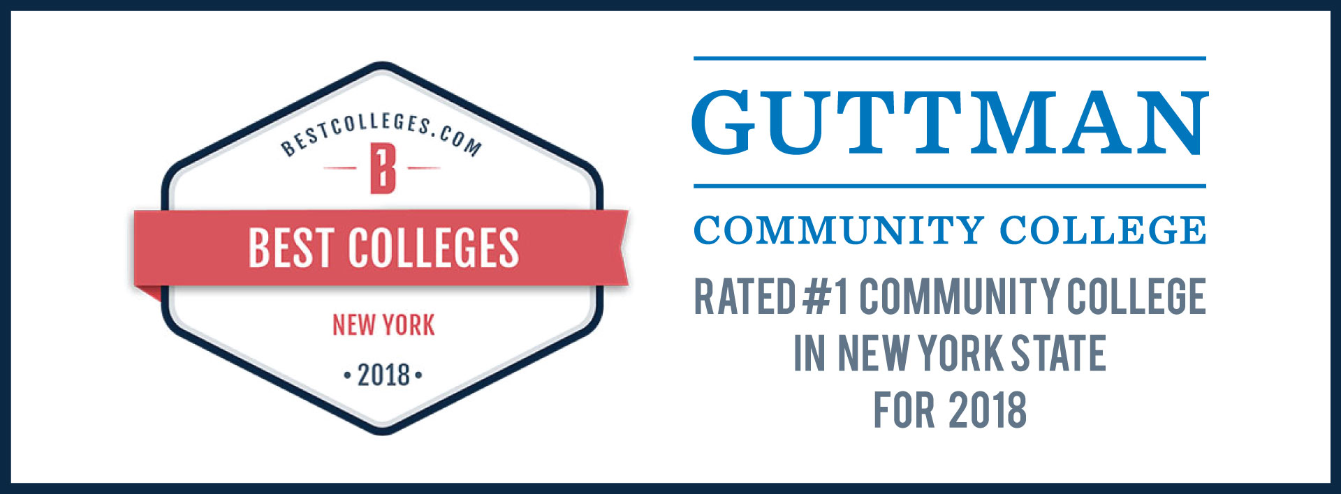 GCC Voted #1 Community College in New York State