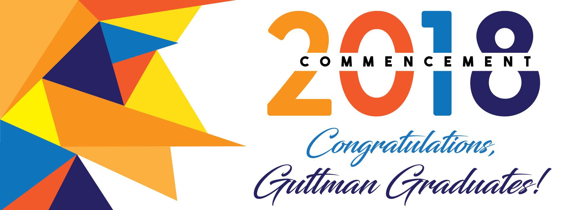 Congratulations, Guttman Graduates