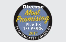 Most Promising Places to Work in Community Colleges for 2017 logo