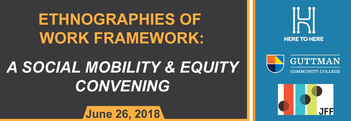 Ethnographies of Work Framework Meeting