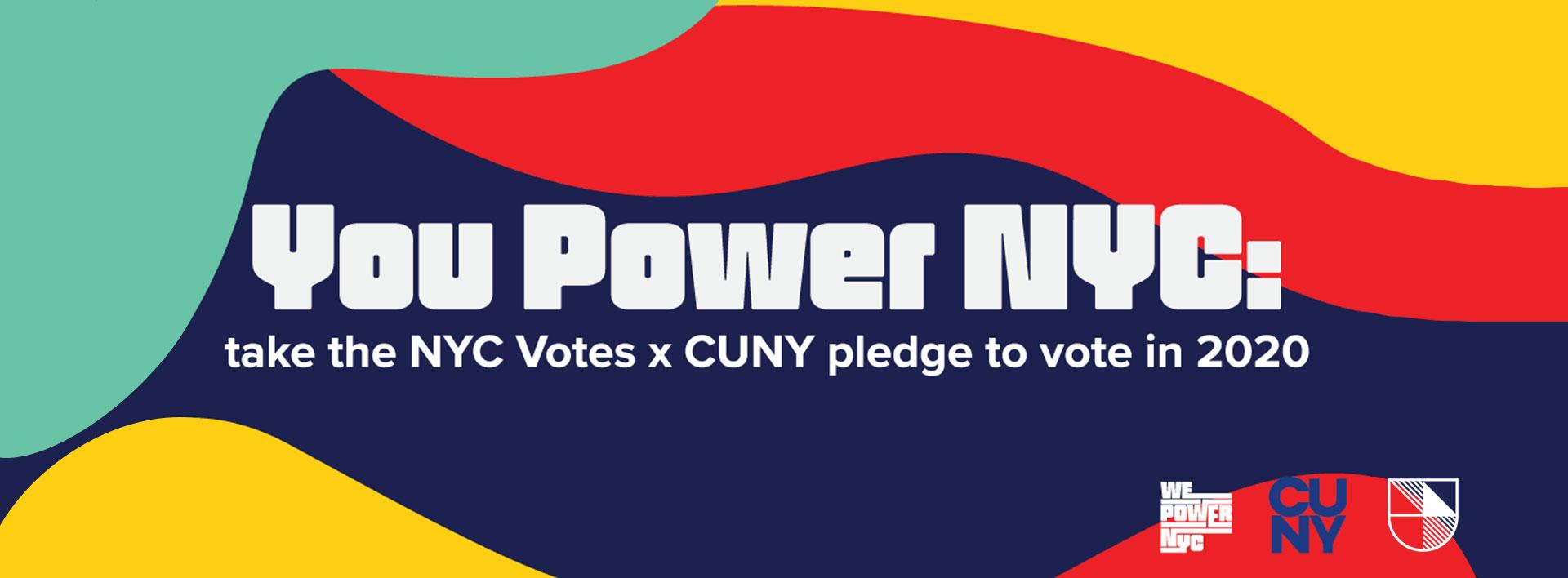 We Power NYC: Pledge to Vote