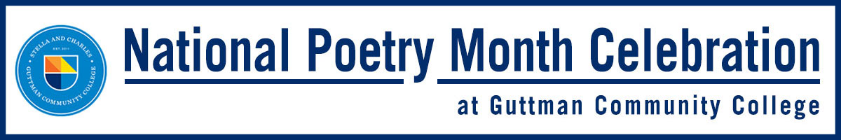 National Poetry Month celebration at Guttman Community College