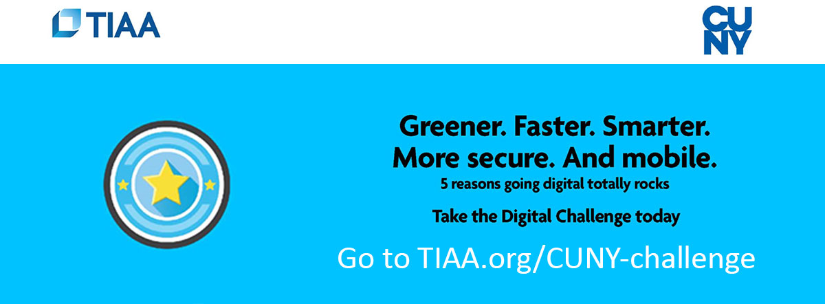 Take the TIAA CUNY Digital Challenge today