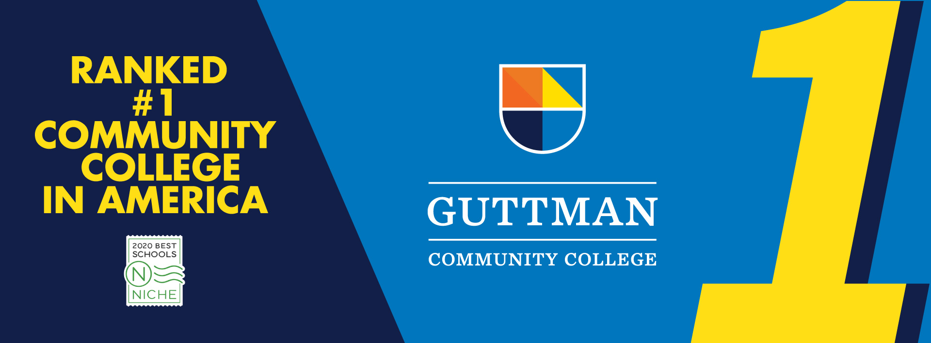 Guttman Community College ranked #1 Community College in America