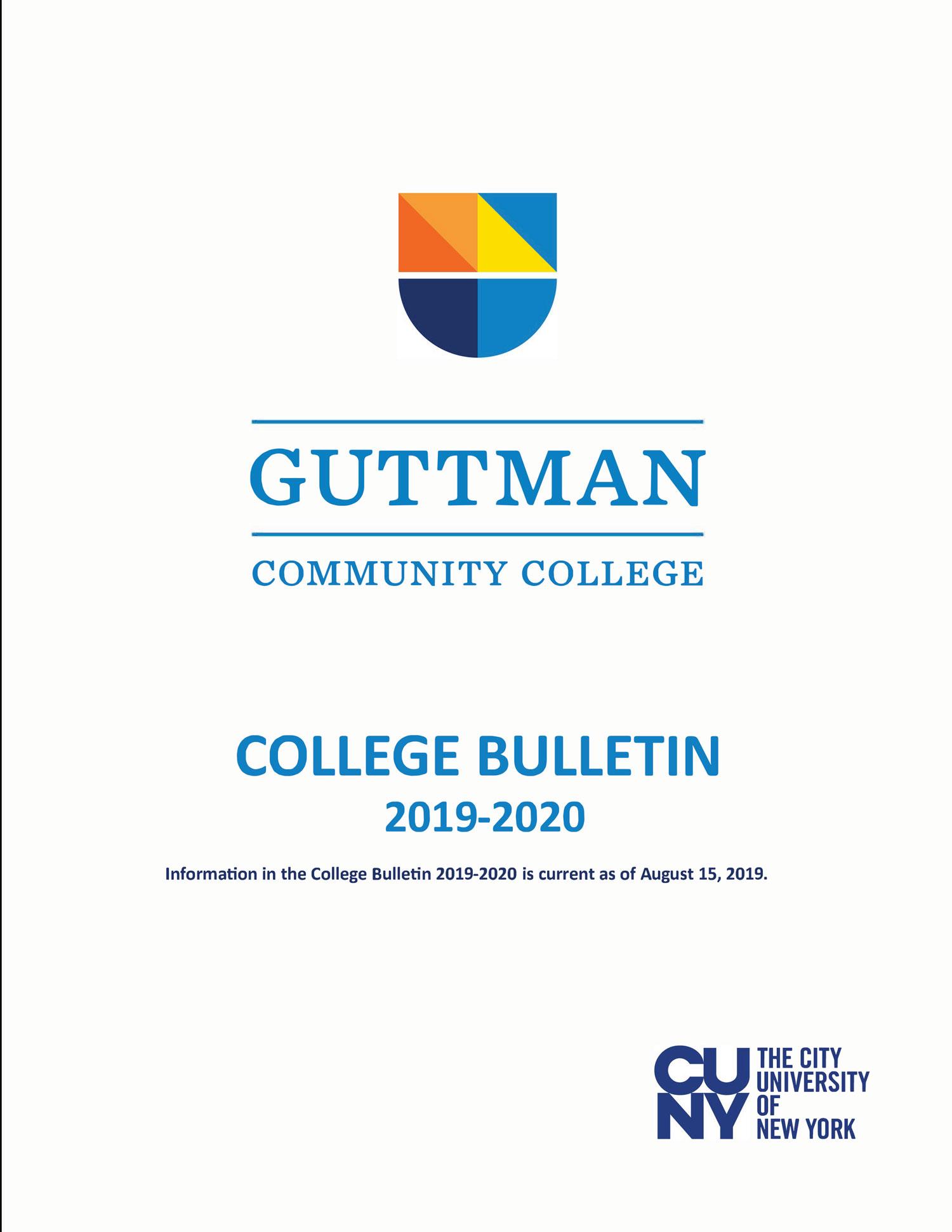 2019-2020 Bulletin cover