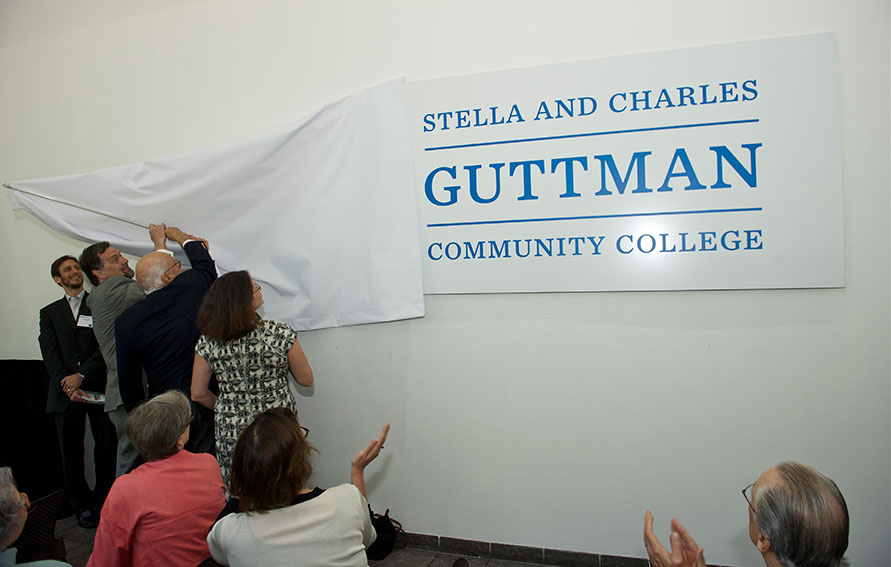 Guttman Community College Renaming Ceremony