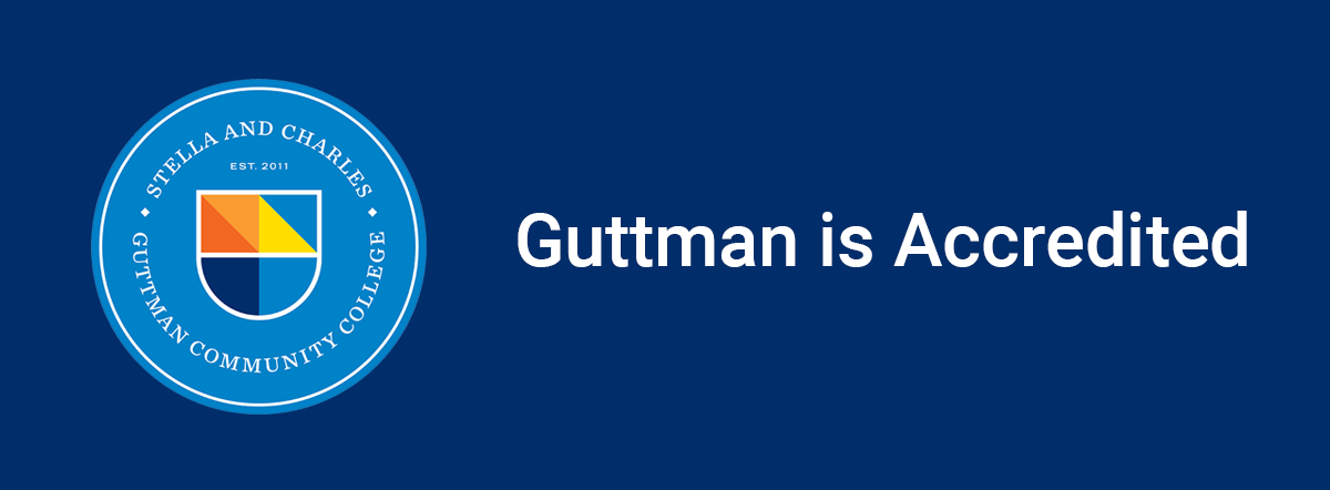 Guttman is accredited