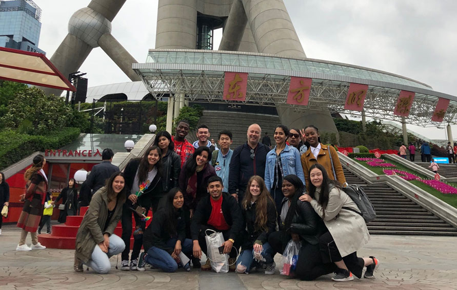 GCC student group in Shanghai