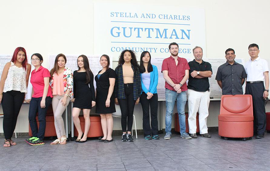 2015 Guttman Research Scholars Program participants