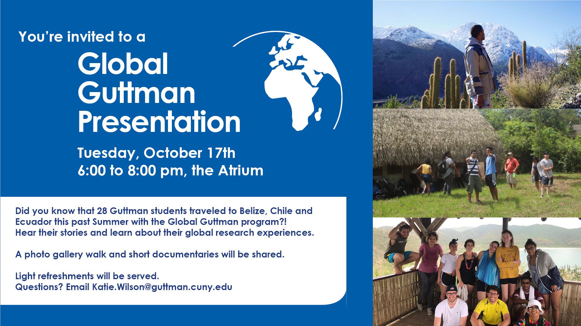 Global Guttman Presentation 2017