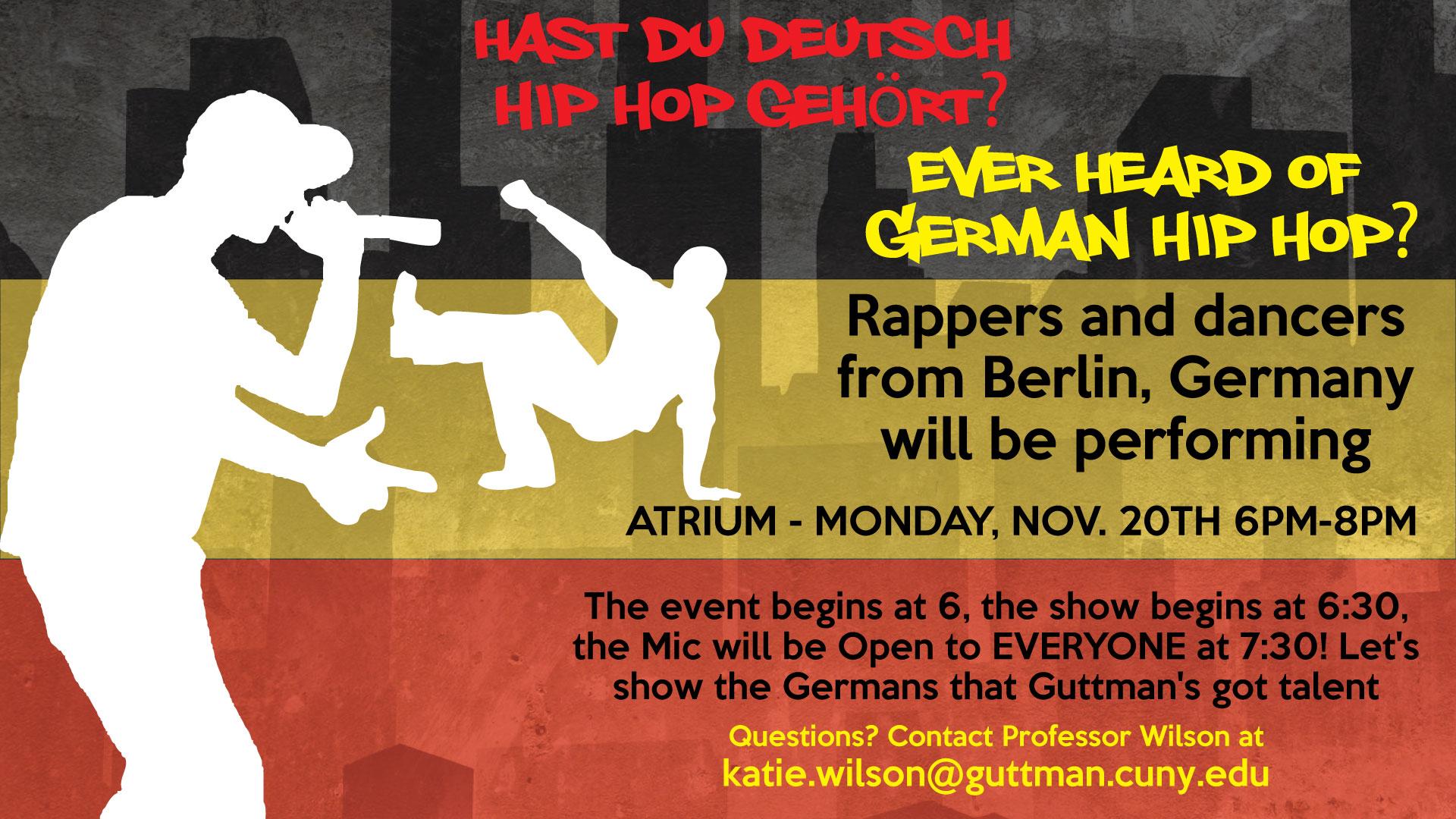German Hip Hop Event