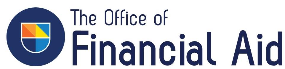 Office of Financial Aid logo featuring the Guttman shield