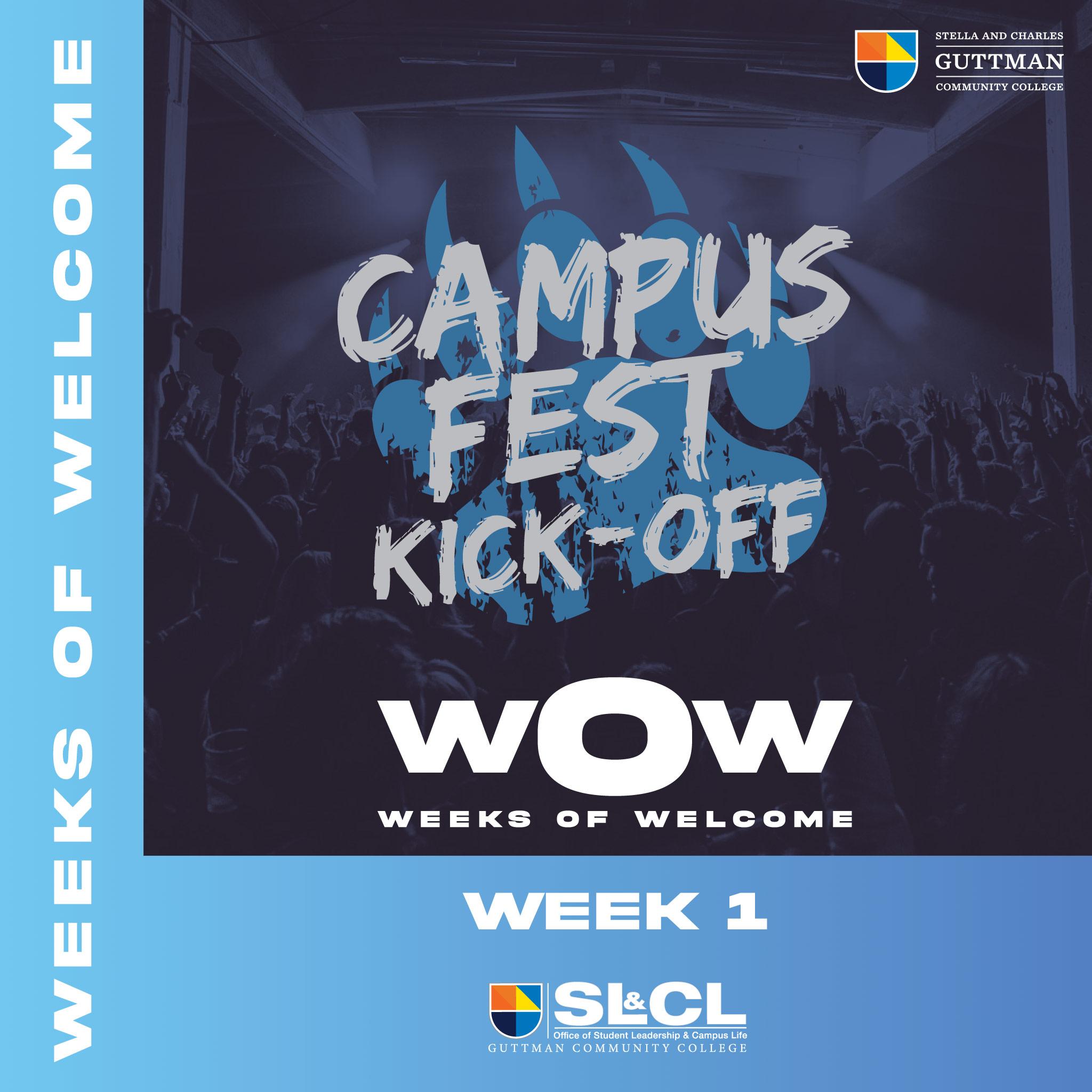Campus Fest Flyer