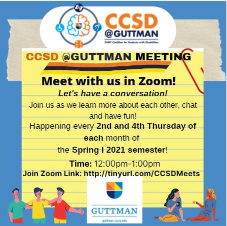 CCSD @ Guttman Flyer