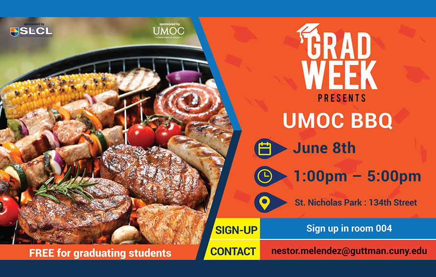UMOC BBQ, June 8 from1 pm to 5 pm, St. Nicholas Park at 134th St.