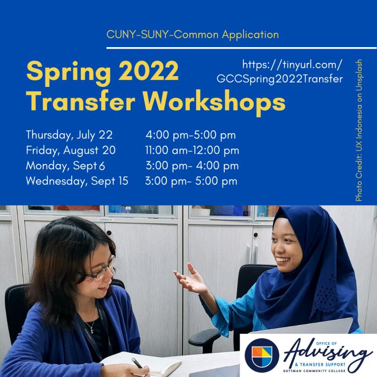 Advising_Spring 2022 Transfer Workshop
