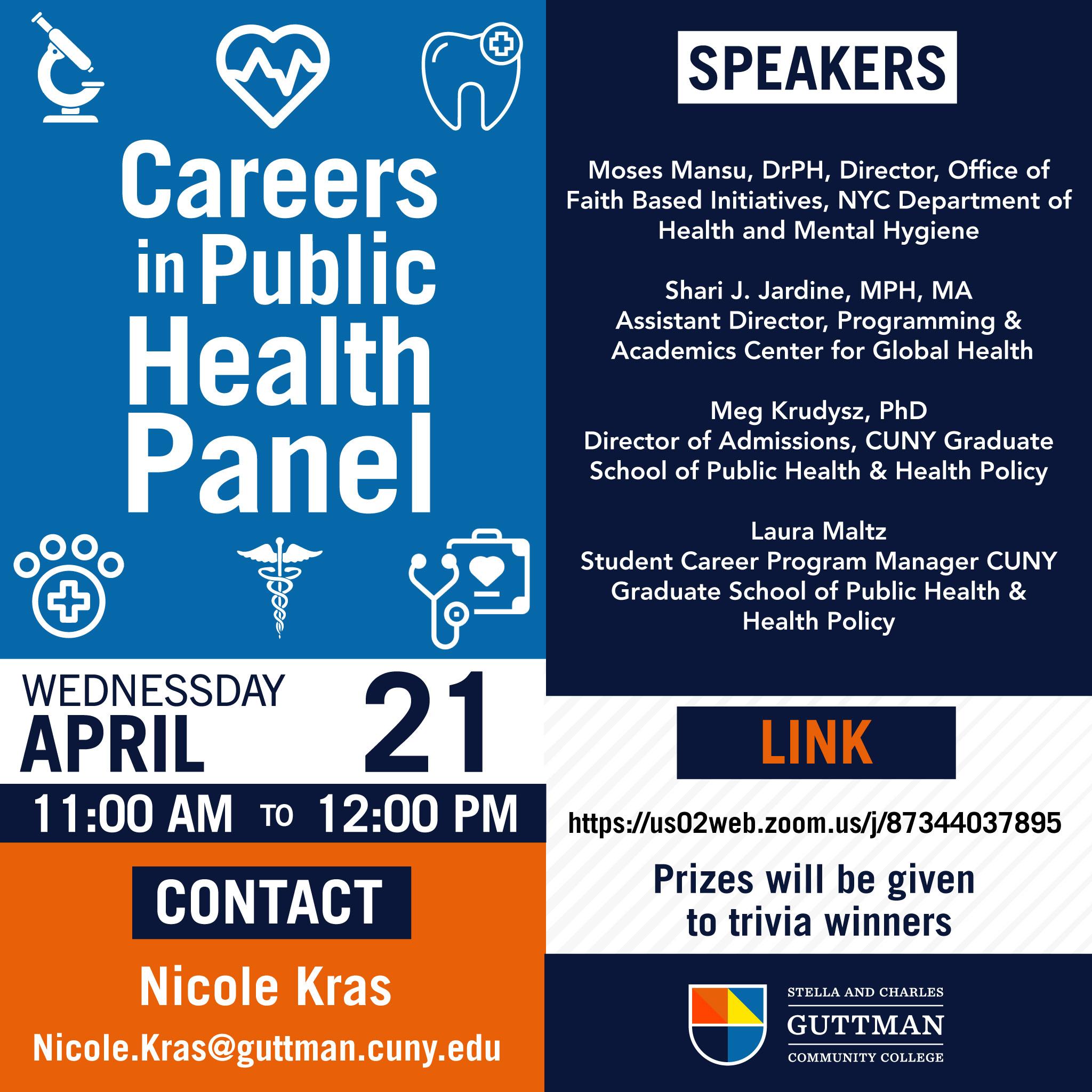 Careers in Public Health Flyer_4.21.21