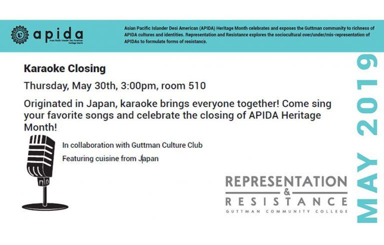 Karaoke Closing on May 30 at 3 pm in room 510