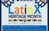 Latinx Bilingual Poetry