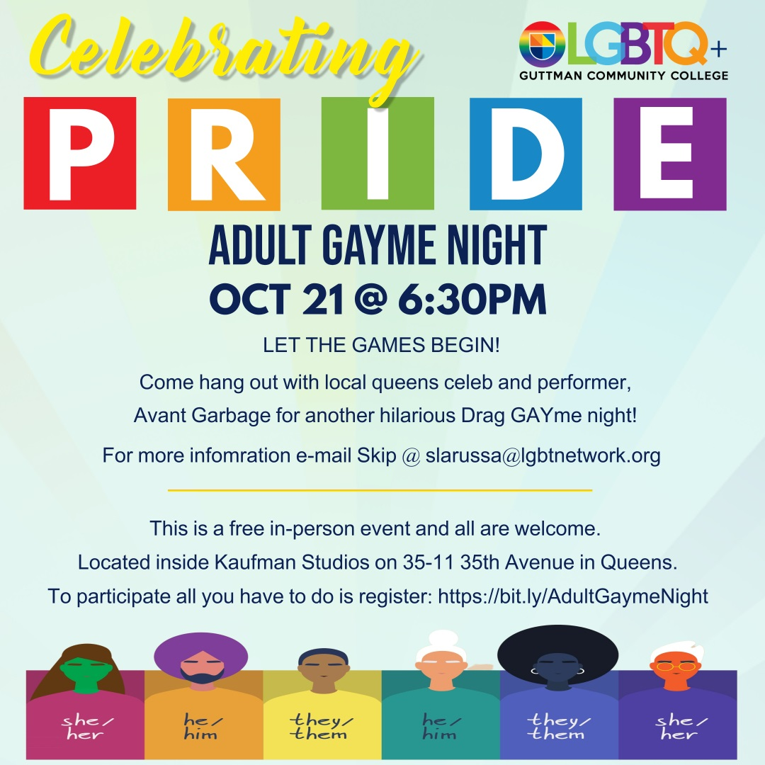 LGBT - Adult Gayme Night