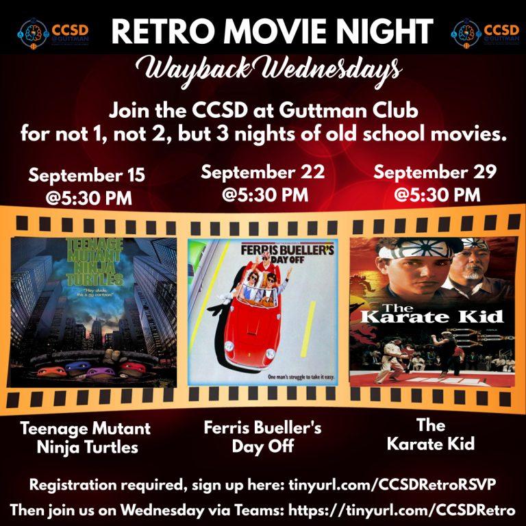 CCSD Retro Movies