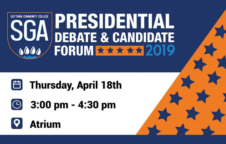 SGA Presidential Debate and Candidate Forum