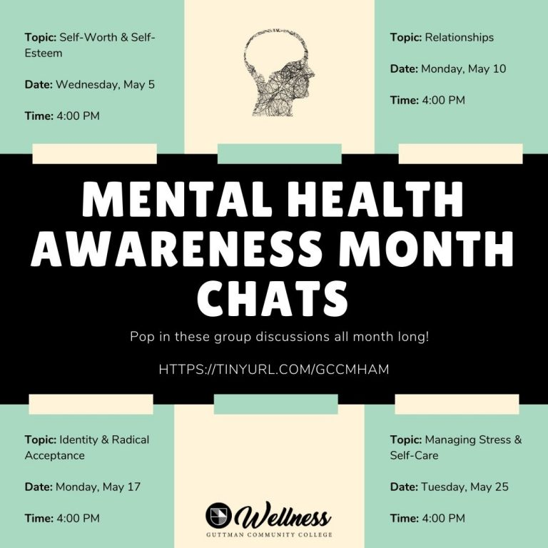 Mental Health Awareness Month chats