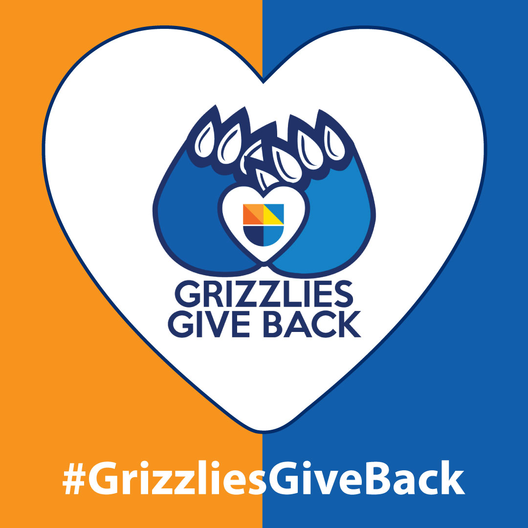 Grizzlies Give Back logo