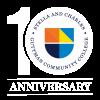 GCC 10th anniversary logo