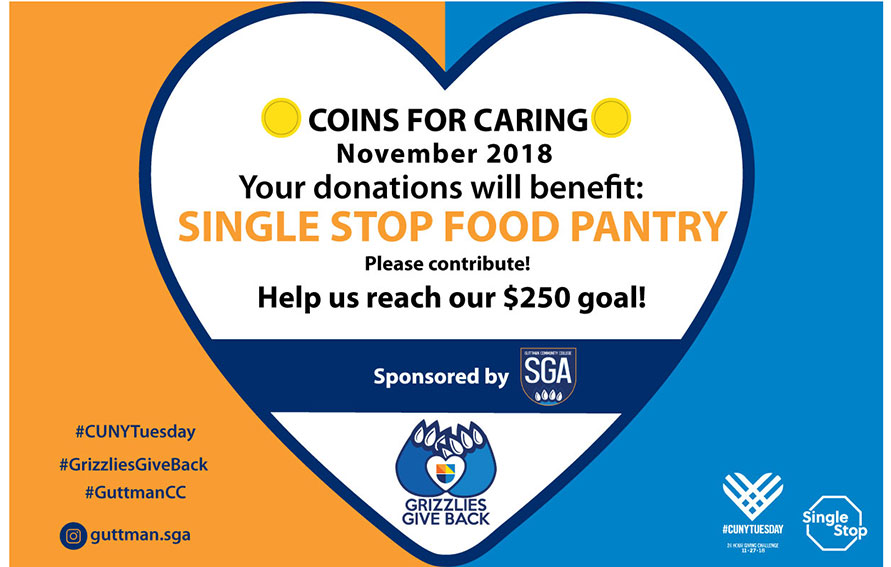 Coins for Caring Coin Drive