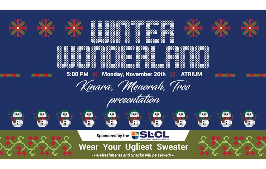 Winter Wonderland at Guttman