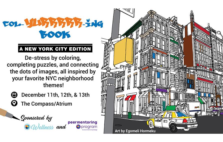 col-yurrr-ing book event December 11-13