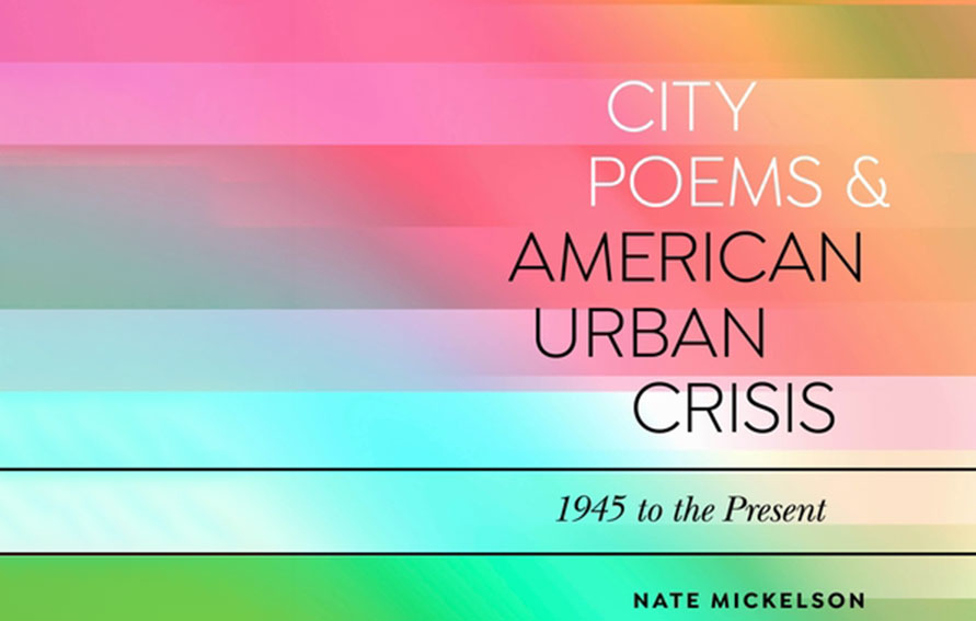 Cover of City Poems & American Urban Crisis