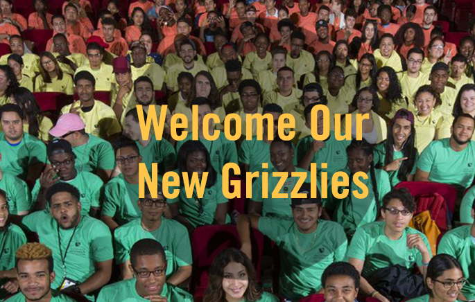 Welcome Our New Grizzlies!