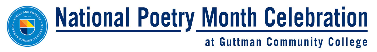 National Poetry Month Celebration banner