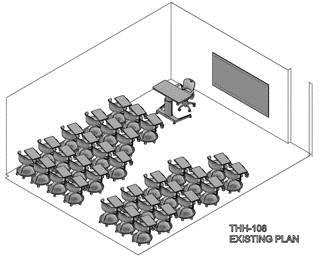 Classroom arrangement - Existing Plan 2