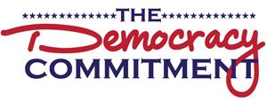 The Democracy Commitment logo