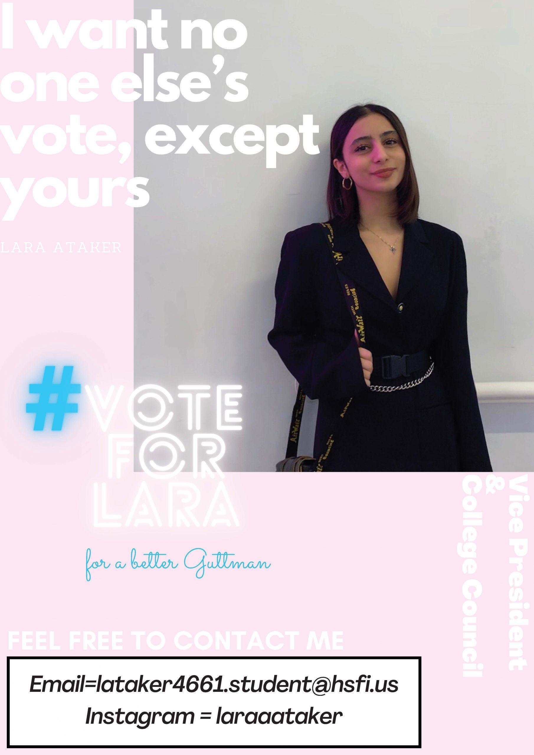 Lara for Vice President