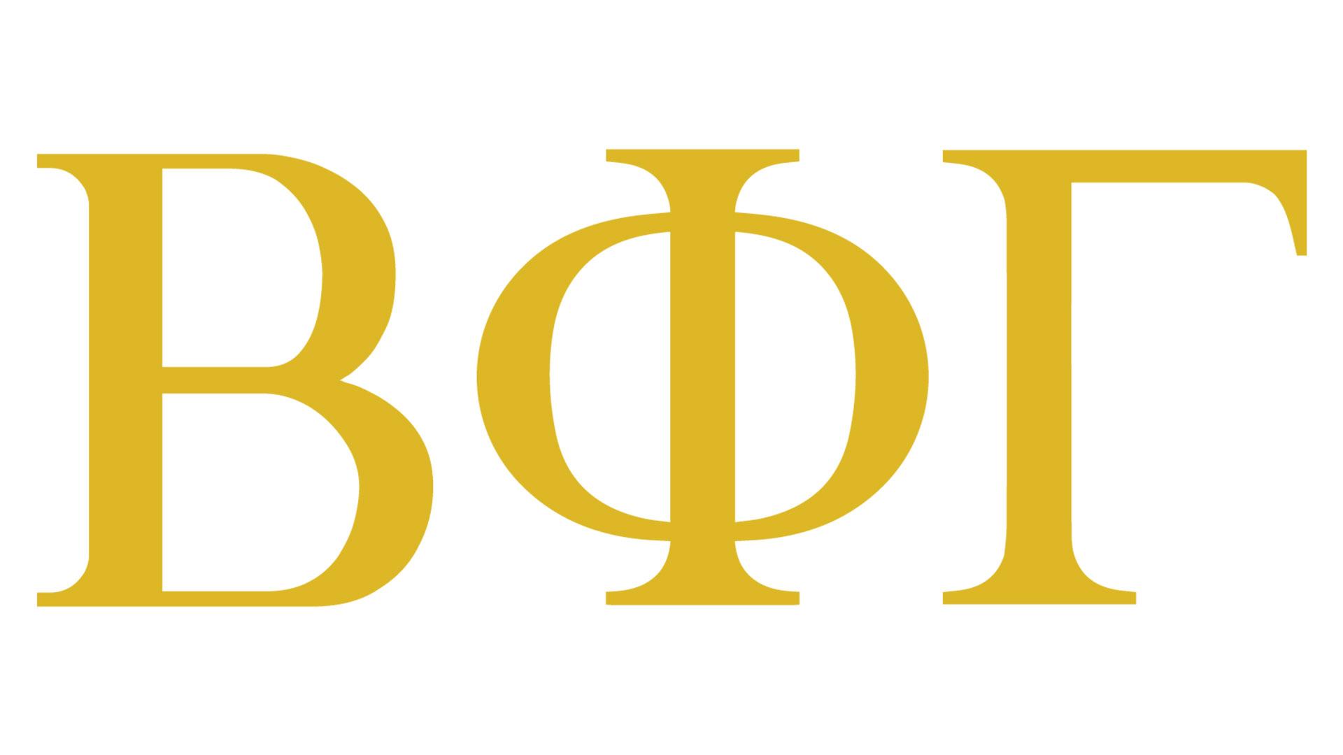 Beta Phi Gamma logo