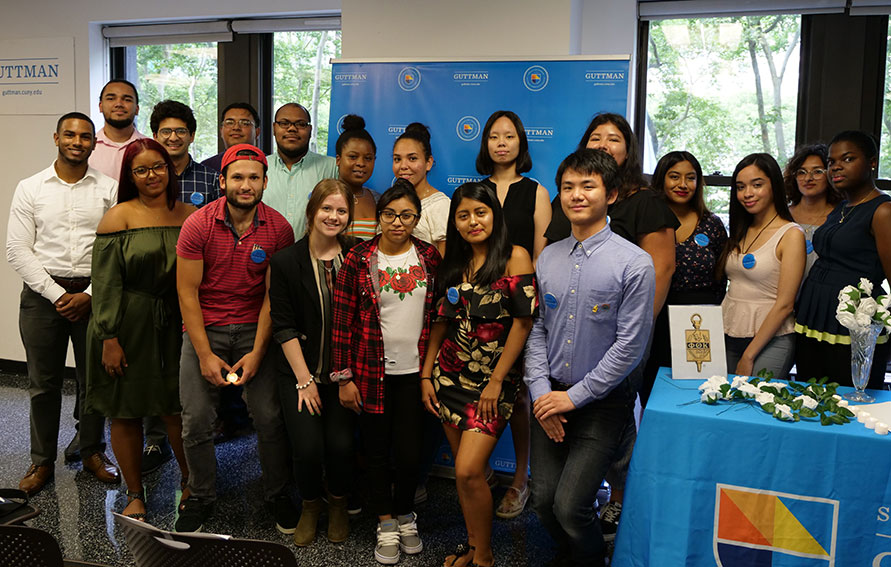 2018 Guttman Community College Phi Theta Kappa Inductees