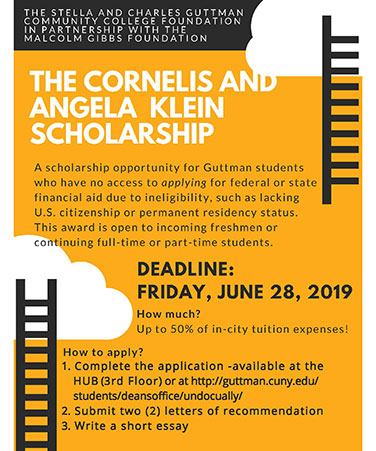 The Cornelis and Angela Klein Scholarship