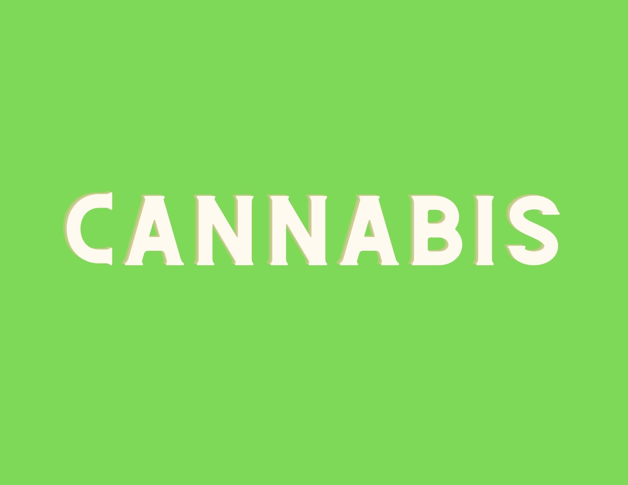 """""""cannabis"""" icon"""