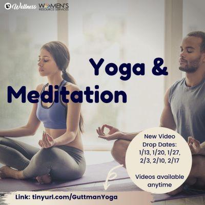 Yoga and Meditation video drop dates