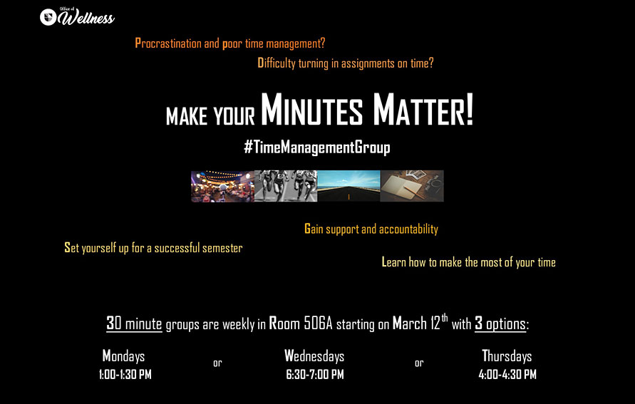 Minutes Matter Time Management Group